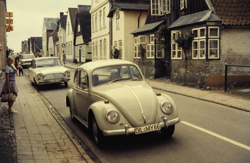 auto, ford, haus, KFZ, PKW, rekord-b, straße, VW-Käfer