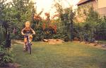 Fahrradtour im Garten