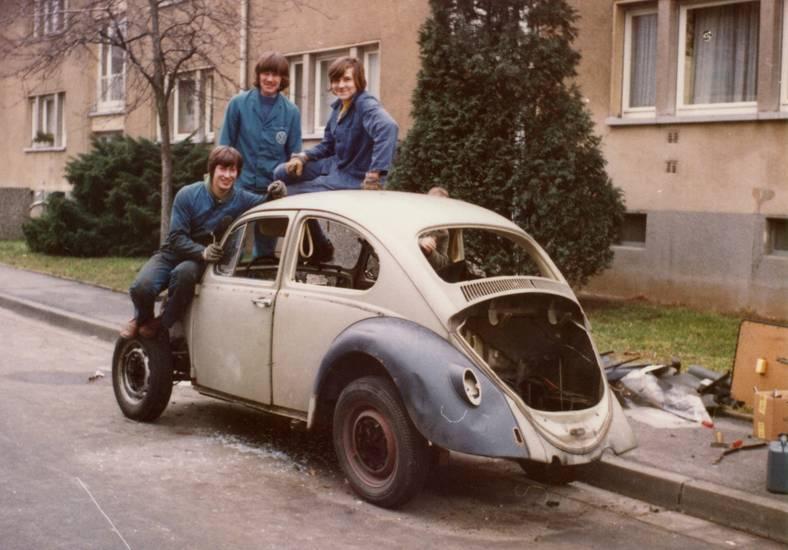 auto, Blaumann, Ersatzteillager, käfer, KFZ, mechaniker, PKW, volkswagen, VW-Käfer, wrack