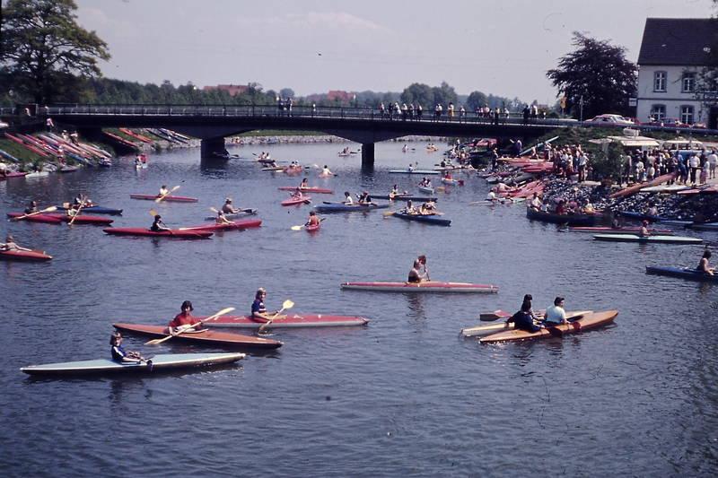 Benninghausen, boote, Bootsgasse, Kanu, kanusport, Lippe