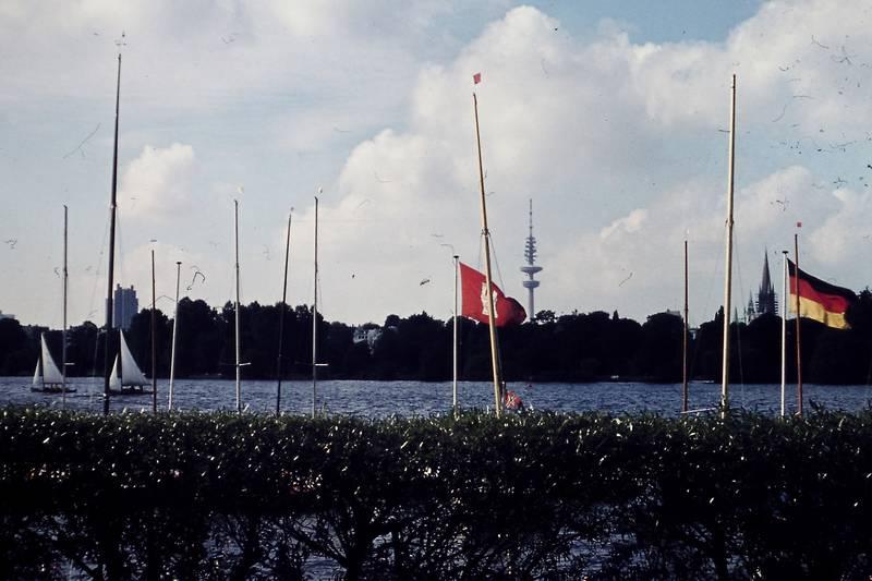 alster, fahne, flagge, hamburg, HH