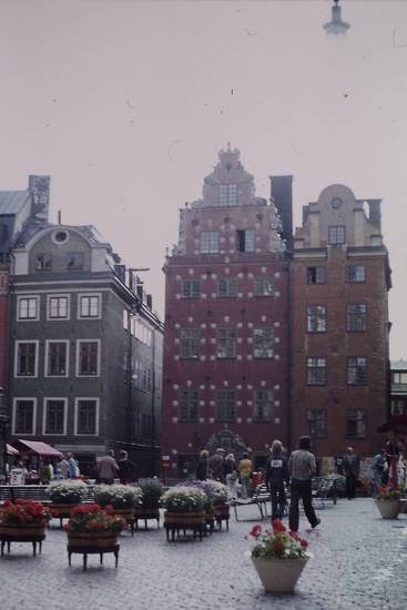Altstadt, haus, Platz, Stockholm