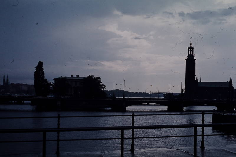 Hafen, Rathaus, Stadshus, Stockholm