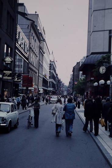 Einkaufsstraße, fußgängerzone, Shoppen, Stockholm