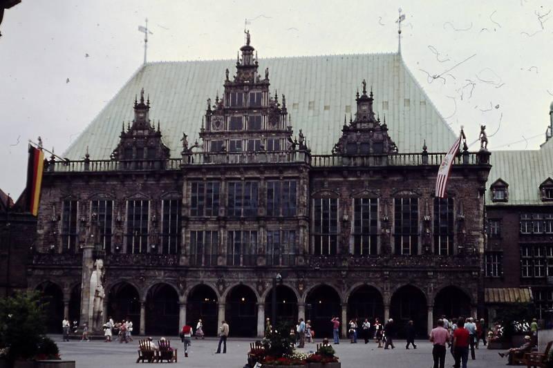 Bremen, gebäude, Rathaus