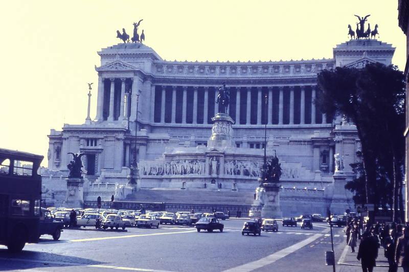 auto, gebäude, KFZ, monumento a vittorio emanuele II, Nationaldenkmal, PKW, Rom