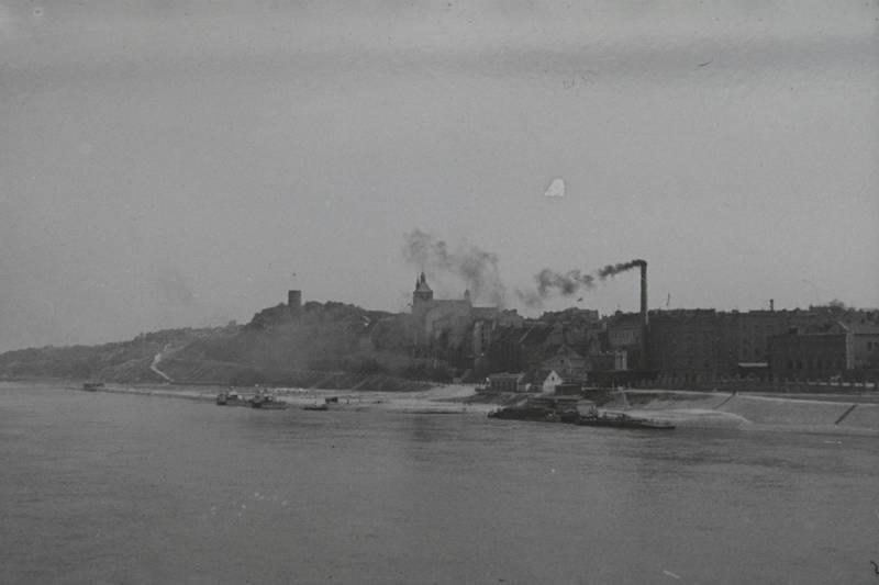 Fabrik, fluss, Rauch, Schornstein, Ufer