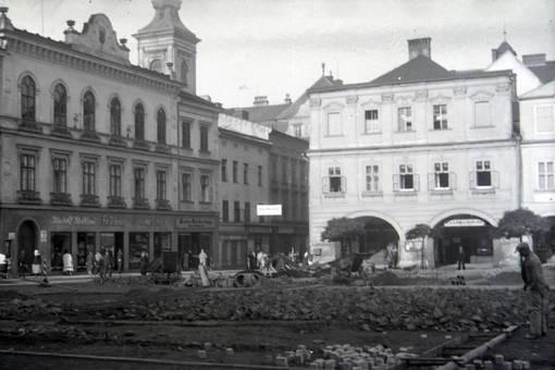 Bauarbeiten auf dem Demelplatz