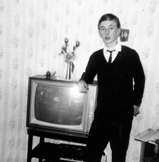 Fernseher, jugend, Kindheit, tv, wohnzimmer