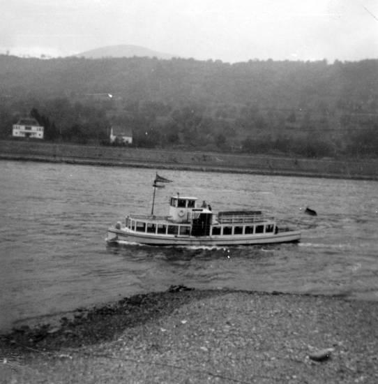 Rhein, Rheinufer, schiff, Ufer