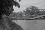 Zerstörte Brücke