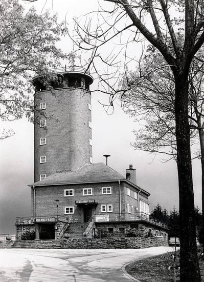 Aussichtsturm, Bahn-Zentralstelle gegen die Alkoholgefahren, Berg, bezirkstag, BZAL, Hohe Bracht, turm