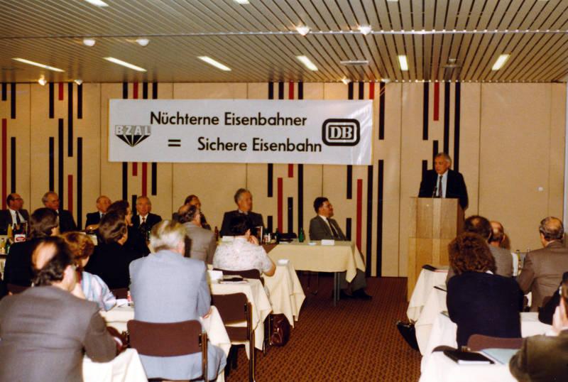 Aachen, Bahn-Zentralstelle gegen die Alkoholgefahren, BZAL, DB, deutsche bundesbahn, Eisenbahn, versammlung, Vertreterversammlung