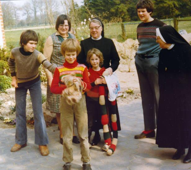 Besuch, Kindheit, mode, nonne