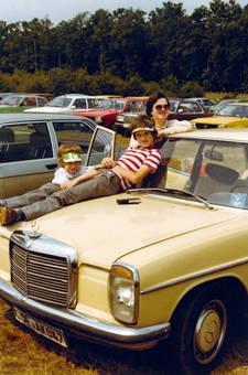 Auto als Sonnenliege