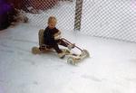 Tretauto im Schnee