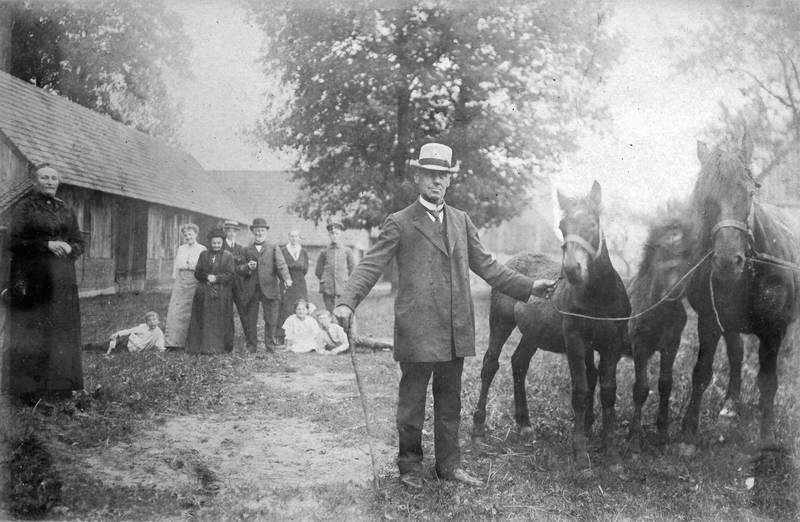 Coesfeld, familie, Hof, Pferd