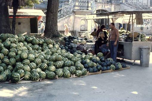 Wochenmarkt in Pula