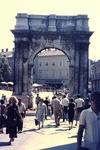 Das Goldene Tor in Pula
