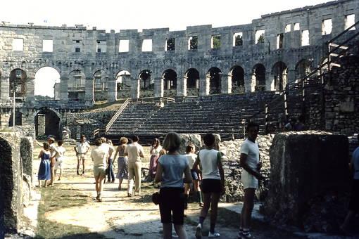 Besuch im Amphitheater