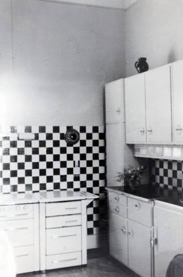 Inneneinrichtung, kachel, Küche