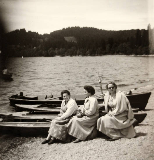 boot, mode, sonnenbrille, titisee, Ufer