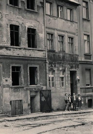 altbau, haus, Landsberg, straße, Warthe