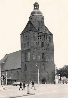 Marienkirche in Landsberg 1968