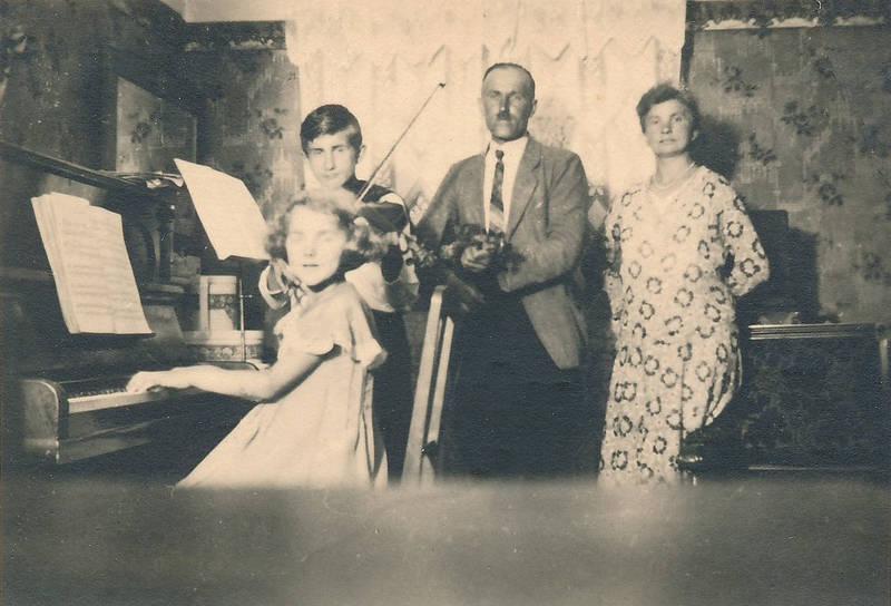 Elternhaus, Geige, klavier, Landsberg, musik