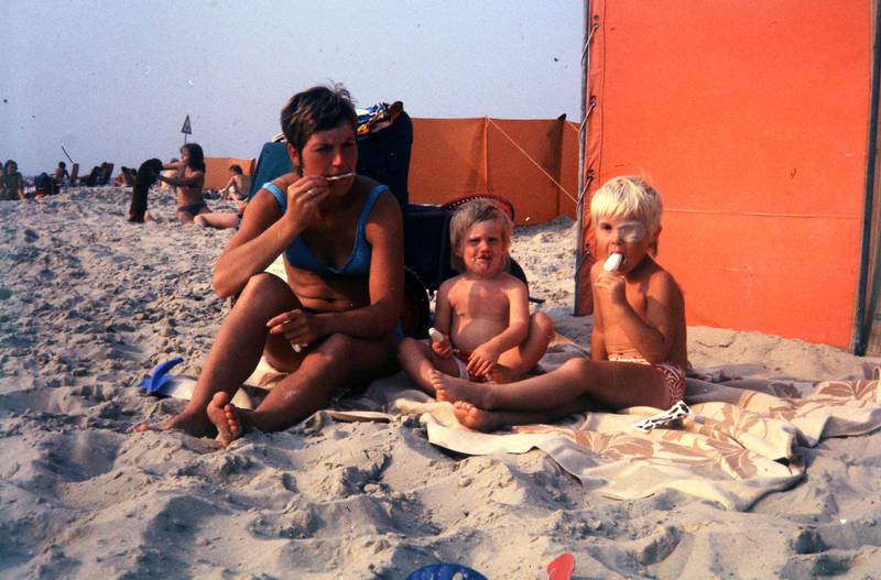 badehose, Bikini, Eis, Kindheit, Sommer, strand