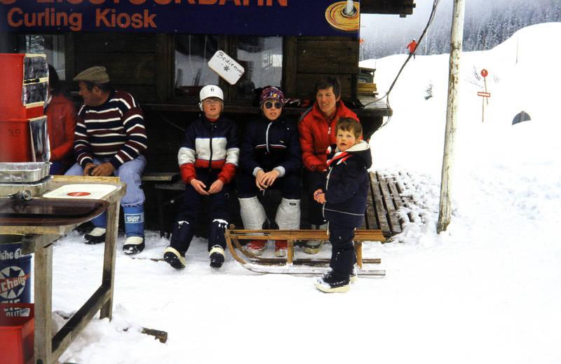 Gröbming, kiosk, pause, skiurlaub