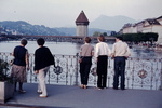 Blick auf die Reuss in Luzern