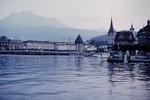 Holzbrücken  in Luzern
