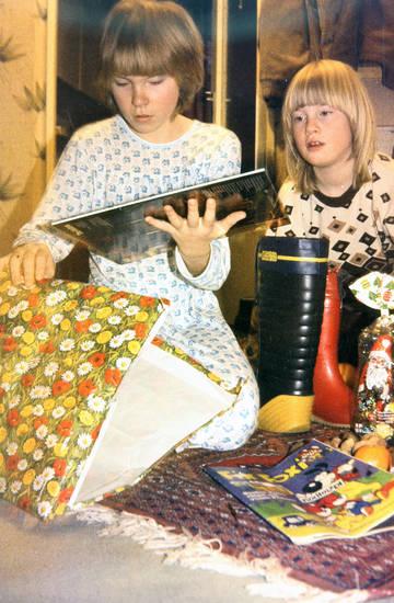 Fix und Foxi, geschenk, Gummistiefel, Schallplatte, Weihnachten