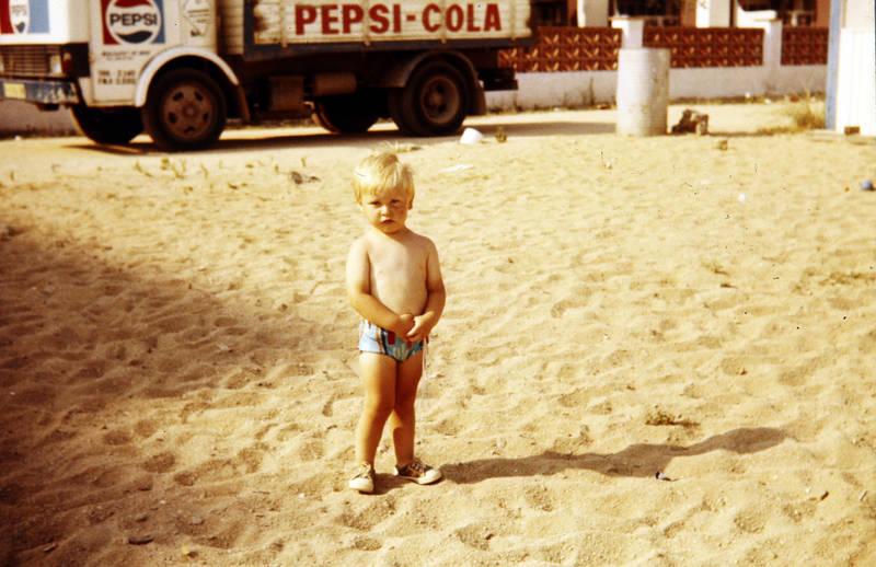 KFZ, Kindheit, Lastwagen, pepsi-cola, Reklame, urlaub, werbung