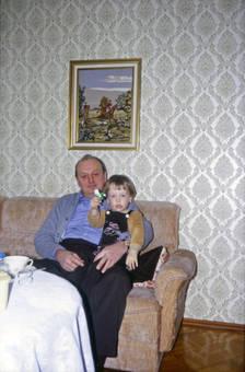 Opa und Enkel