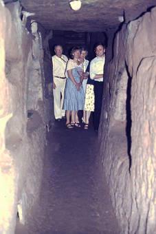 In den Domitilla-Katakomben