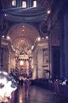 Papstmesse im Petersdom