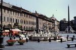 Auf der Piazza Navona in Rom