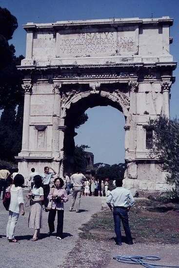 forum romanum, Rom, Titusbogen