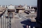 Auf dem Dach des Petersdomes