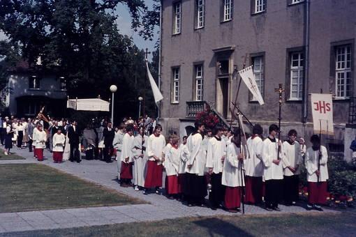 Fronleichnamsprozession 1982
