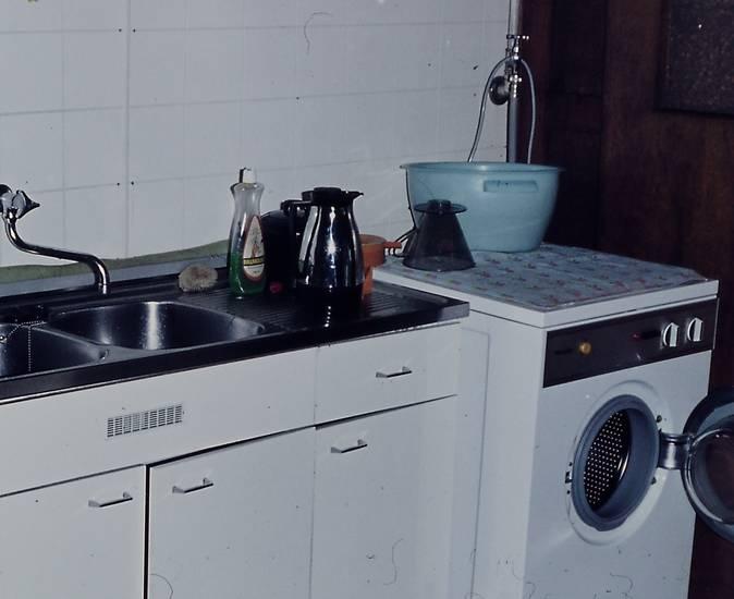 filter, Spüle, teekanne, Waschmaschine