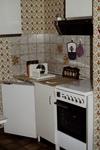 Küche in den 80er Jahren
