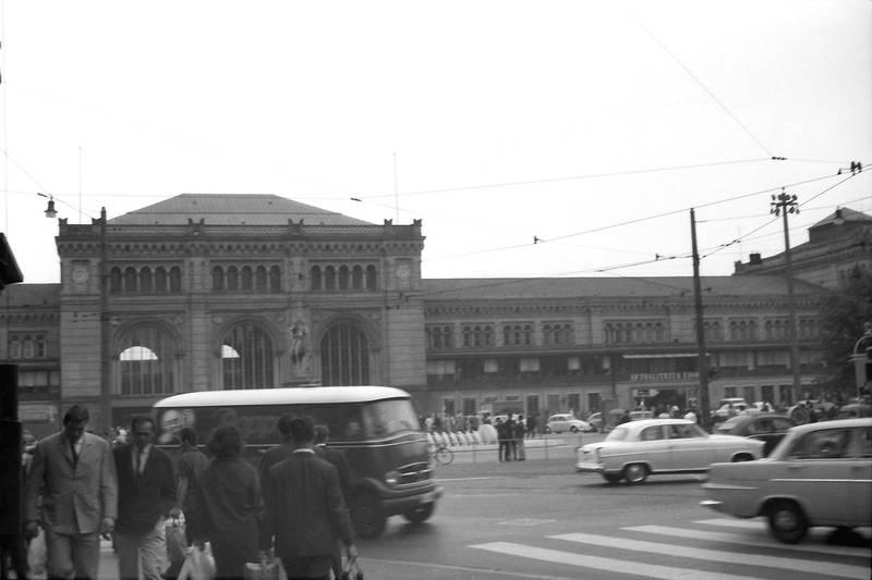 hannover, Hauptbahnhof, mercedes, rekord-p2