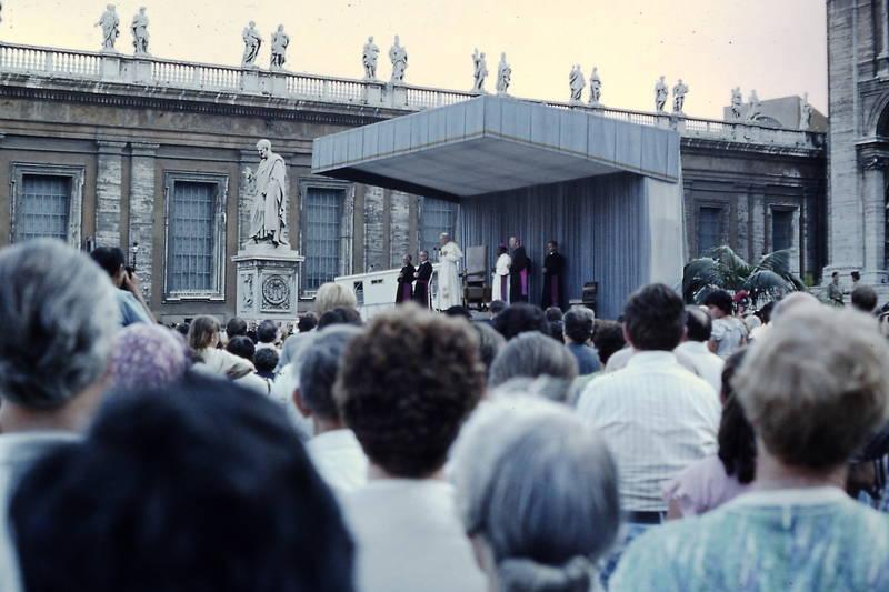 Generalaudienz, Johannes Paul II, Papst, pilger