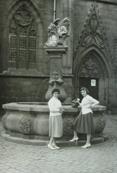 Vor der STiftskirche