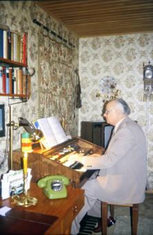 Ein Mann und seine Orgel