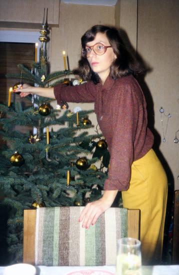 Brille, frisur, Inneneinrichtung, mode, Weihnachten, Weihnachtsbaum, Weihnachtsbaumschmuck