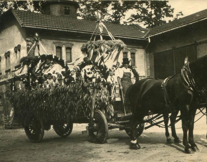 erntedank, Erntefest, Pferd